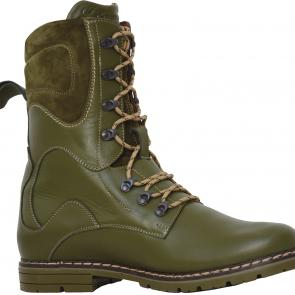 MCHF-1 Brown boots with leather lining