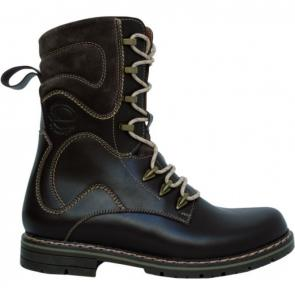 MCHF-2 Leather winter boots for hunters with leather lining
