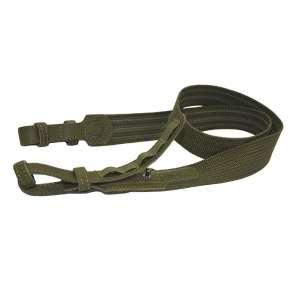 Ремінь для зброї кольору хакі антабка 24мм довжина 101 см МР-6 Акрополіс