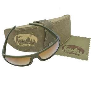 ОФА-4 Сонцезахисні окуляри з футляром і серветкою з мікрофібри