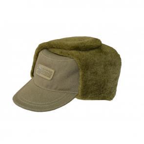 OSHR-2 Winter canvas cap, with artificial fur