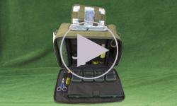 РСФ-1. Сумка для рибалки на фідер та болонські вудки